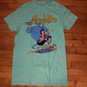 NWOT Disney Aladdin magic carpet tee